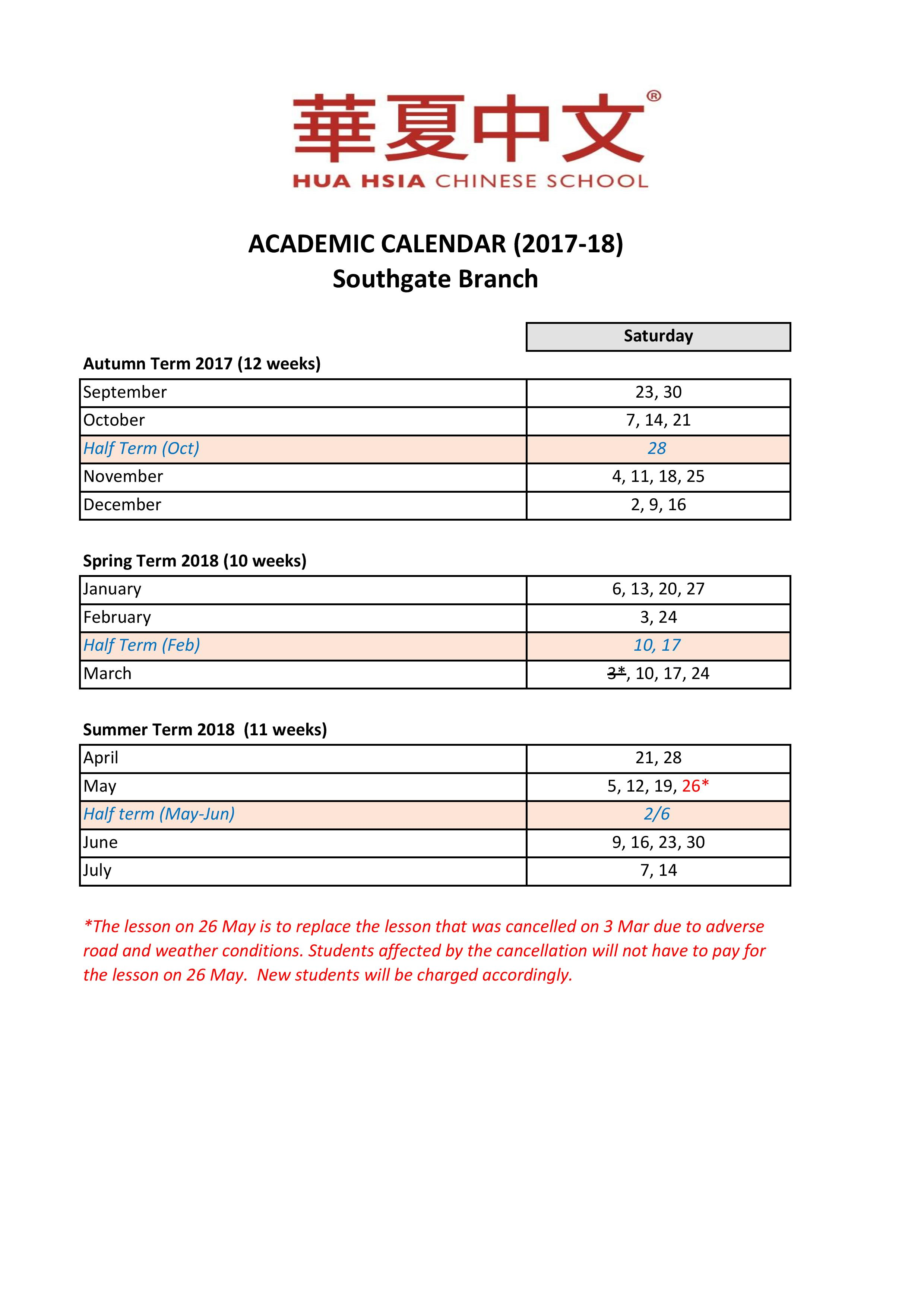 Academic Calendar (2017-18) – Southgate-page-001 (1)